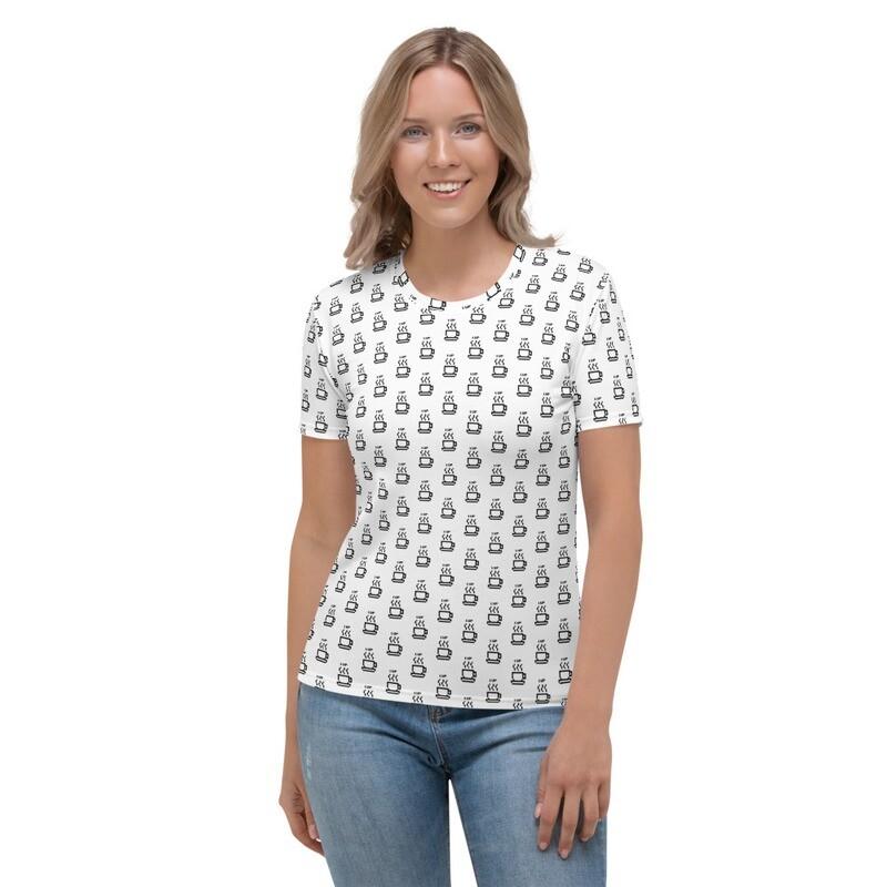 '1UP'  Women's Coffee T-shirt