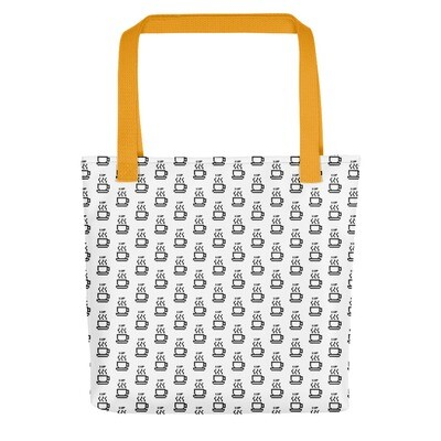 I CAN'T Without COFFEE-1UP Tote bag