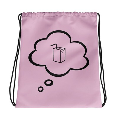 I CAN'T Without COFFEE®️-I DREAM OF JUICE Drawstring bag