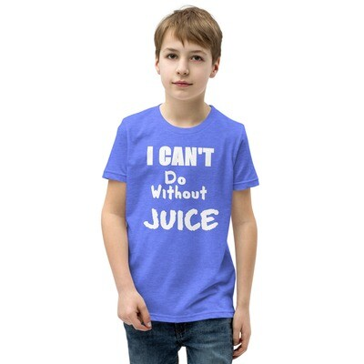 I CAN'T Without COFFEE®️- I CAN'T Do Without JUICE (TWO) -Youth Short Sleeve T-Shirt