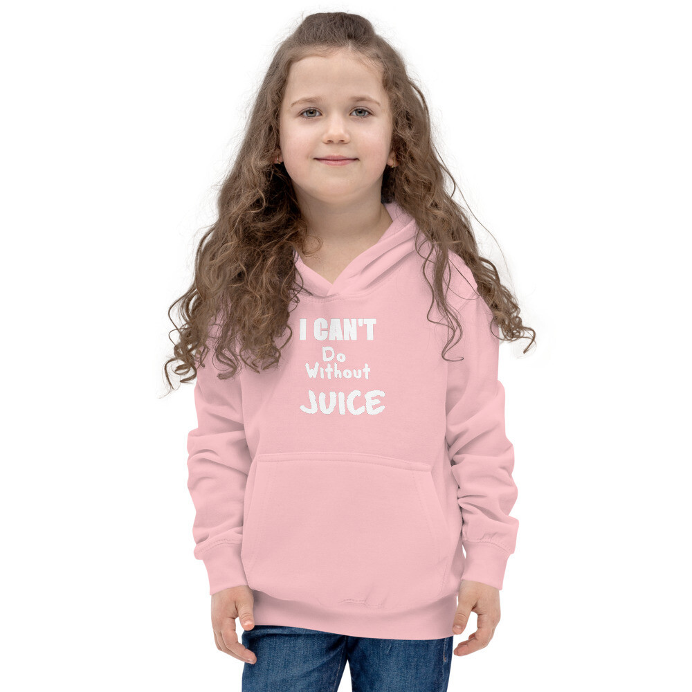 I CAN'T Without COFFEE®️ - I CAN'T Do Without Juice (Two) Kids Hoodie