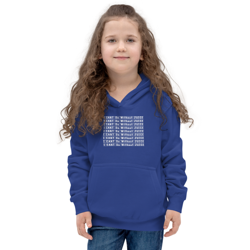 I CAN'T Without COFFEE®️- I CAN'T Do Without JUICE Kids Hoodie