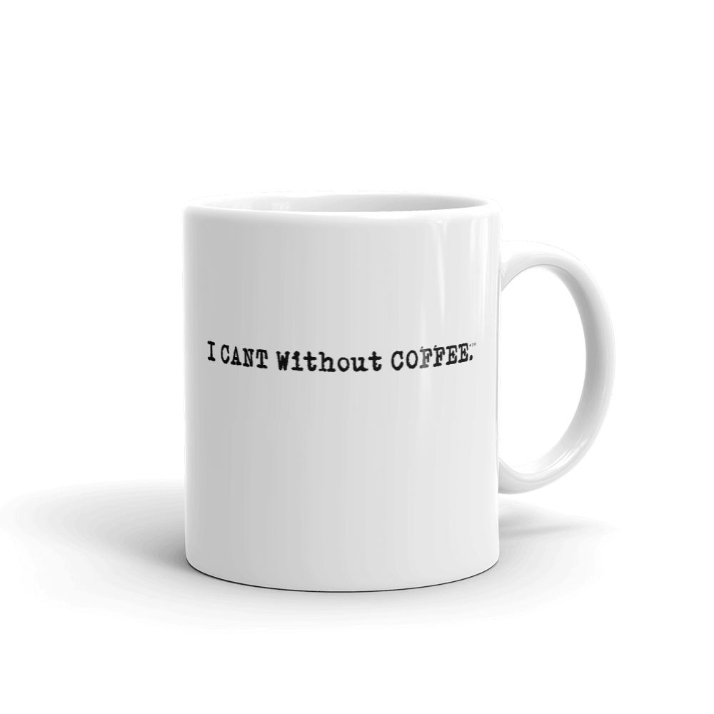 I CAN'T Without COFFEE®️ - LOGO Mug