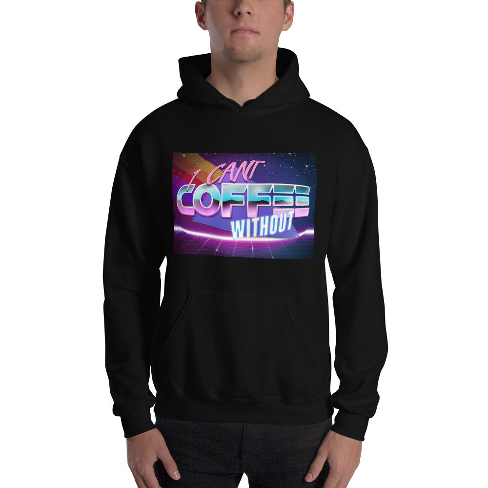 I CAN'T Without COFFEE®️- THE MORE YOU KNOW Unisex Hoodie