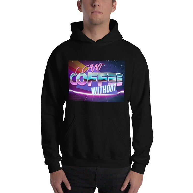 I CAN'T Without COFFEE®️- THE MORE YOU KNOW Men's Hoodie