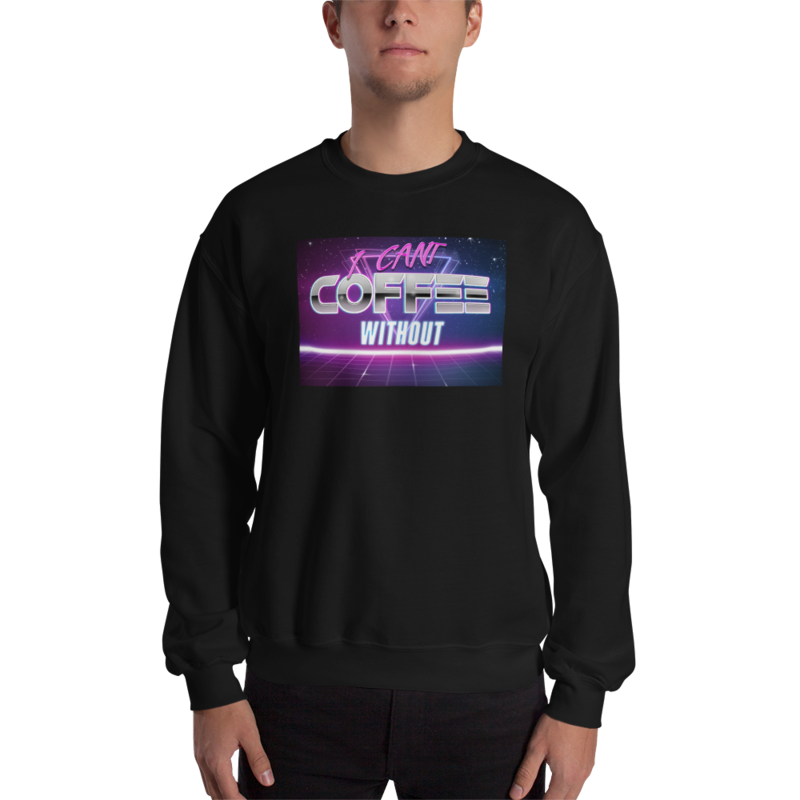 I CAN'T Without COFFEE®️- THE MORE YOU KNOW Men's Sweatshirt