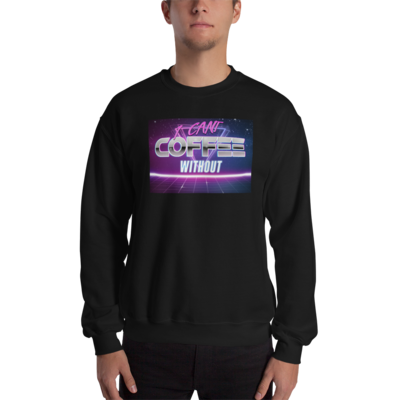 I CAN'T Without COFFEE®️- THE MORE YOU KNOW Unisex Sweatshirt