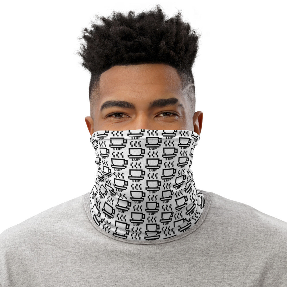 I CAN'T Without COFFEE ®️ - '1UP' Neck Gaiter