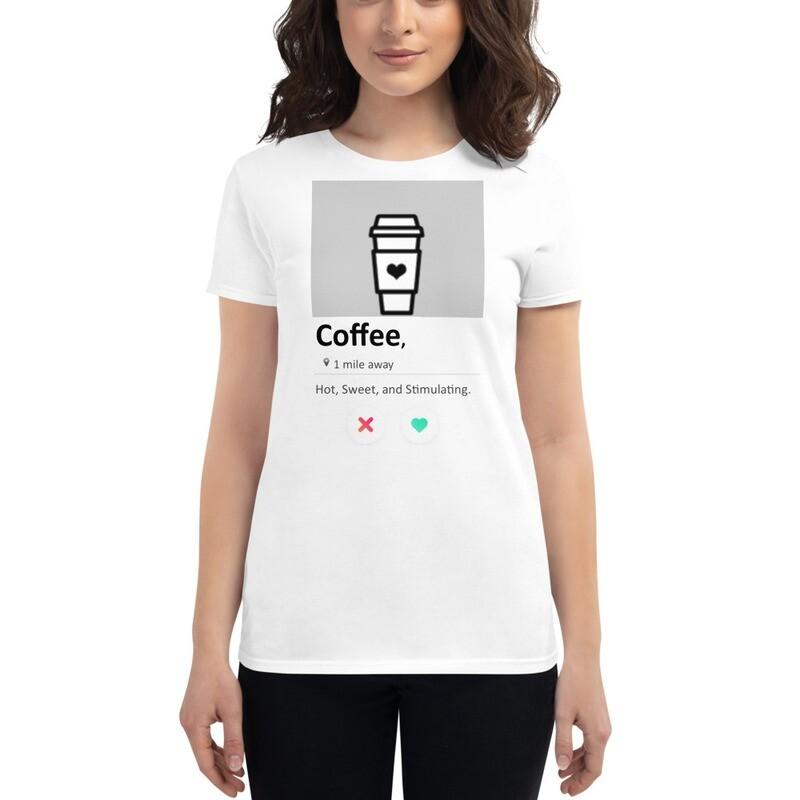 """""""SWIPE"""" Women's short sleeve graphic t-shirt"""