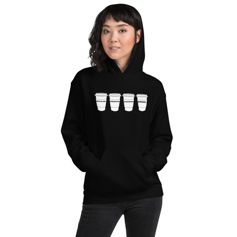 """I CAN'T Without COFFEE """"GASOLINA H"""" Women's  Hoodie"""