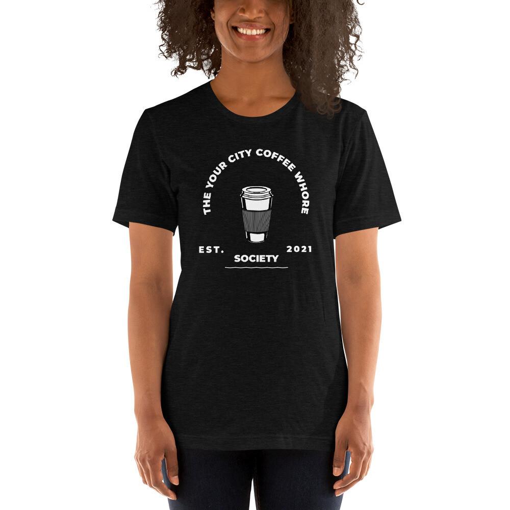 'Coffee Whore' Women's Customized T-Shirt