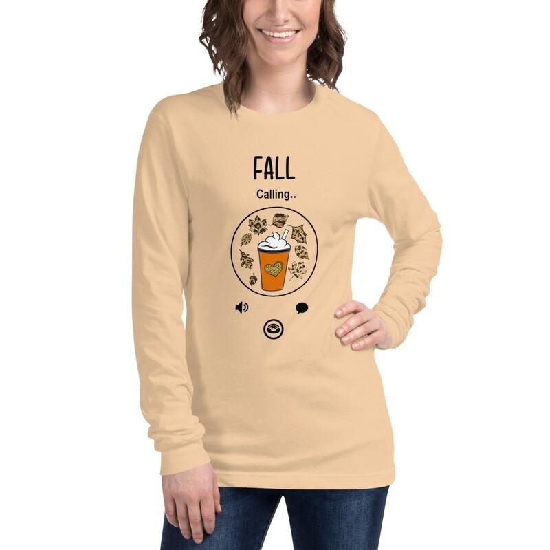 'Calling Fall' Women's Long Sleeve Tee
