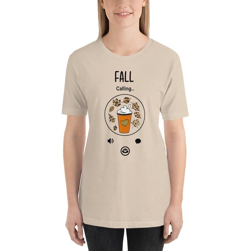 'Calling Fall' Women's Fall T-Shirt