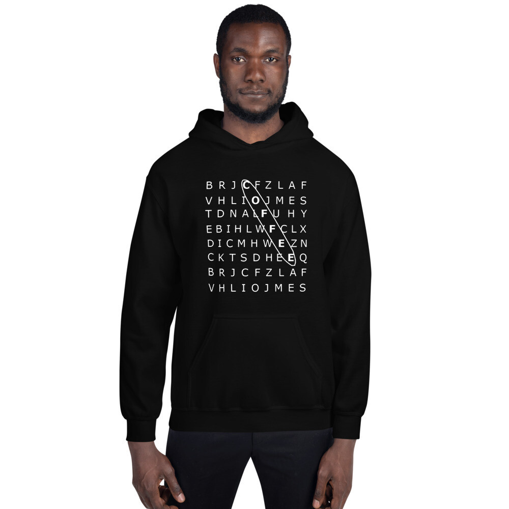 'Search' Men's Graphic Hoodie