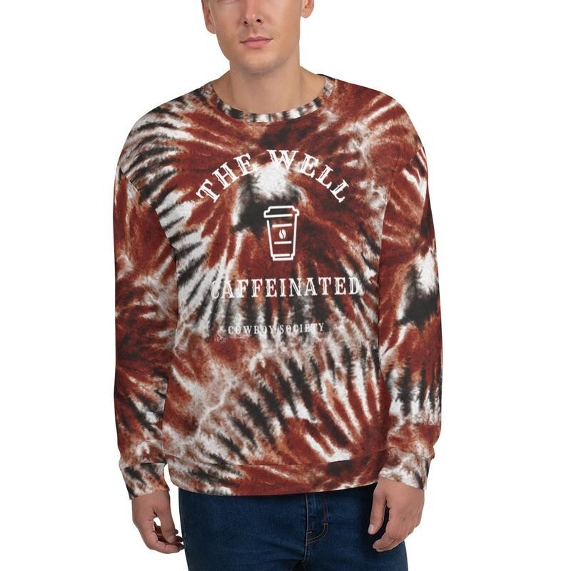 '615' Men's Tie Dye Graphic Sweatshirt