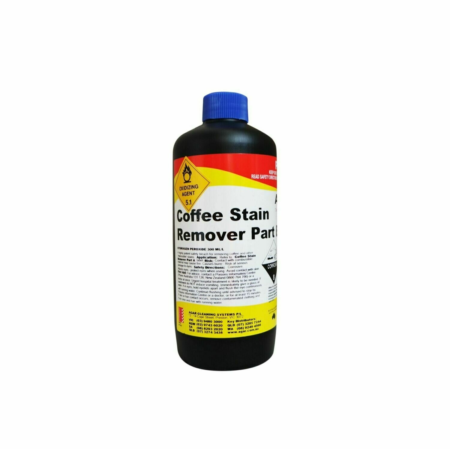 COFFEE STAIN REMOVER PT. B