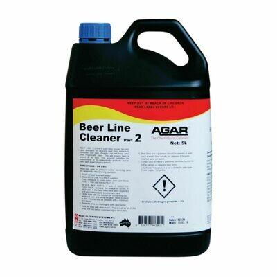 BEER LINE CLEANER PT 2  5 L