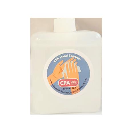 CPA HAND SANITISER  REFILL 550ML x 8