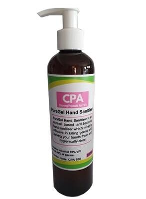 PureGel Hand Sanitiser 250ML x 12