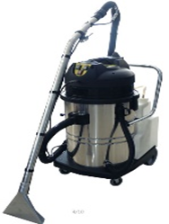 60L  CARPET CLEANER ( STAINLESS BODY,2MOTORS ,2110W) AMETEK MOTOR