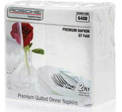 Rosche Quilted Dinner Napkin GT fold 100s