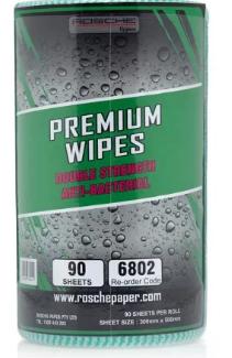 Rosche Premium Wipes ( Green ) DSAB45m