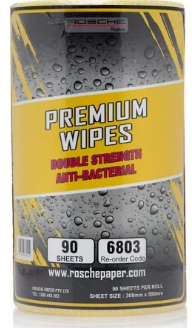 Rosche Premium Wipes (Yellow) 45m