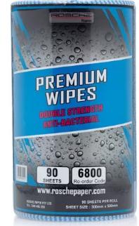 Rosche Premium Wipes (Blue) DSAB 45m