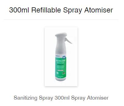 777 Enzymatic Formula Spray Atomiser 300ml