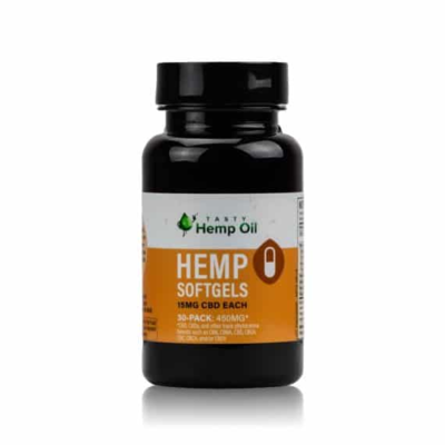 Tasty Hemp Softgels 30 capsules