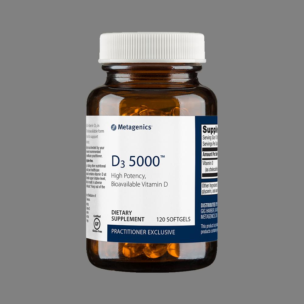 D3 5000 120 soft gels