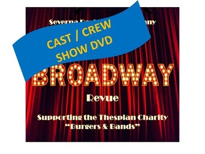 Cast / Crew Broadway Revue Show DVD