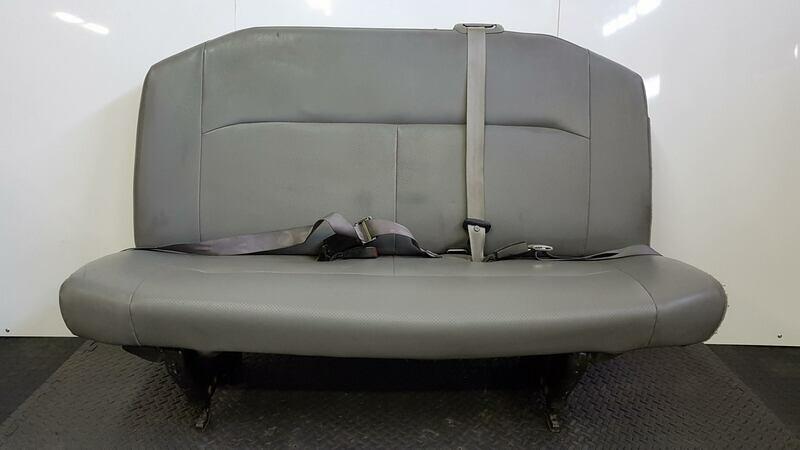 3 Passenger Vinyl Bench Seat - Removable