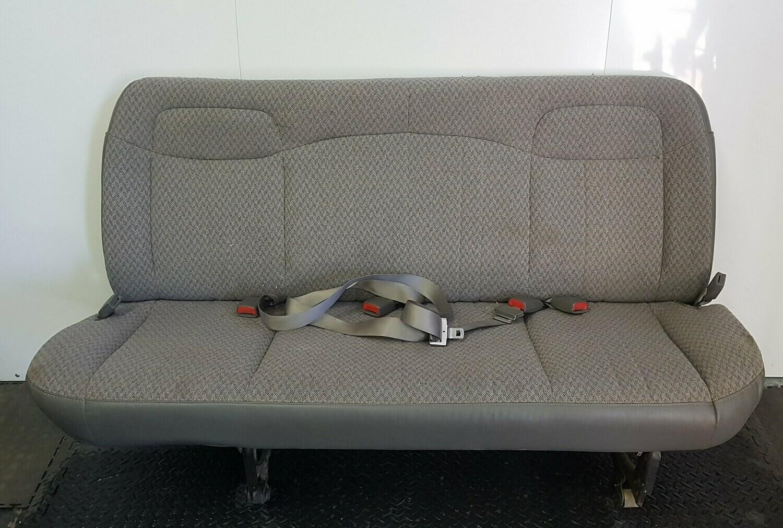 Last Row 4 Passenger Chevy Bench Seat