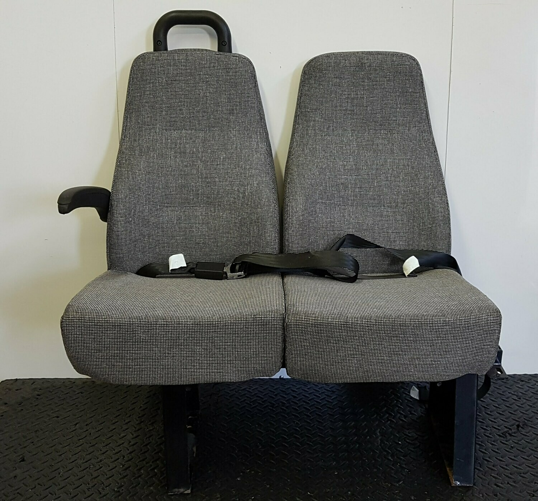 2 Passenger Bench Seat W/ Mounting Brackets