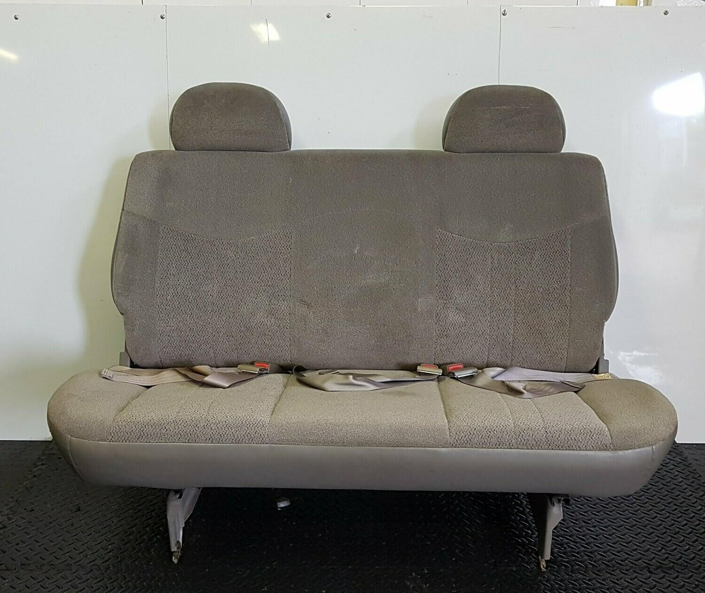 Bench Seat W/ Folding Backrest