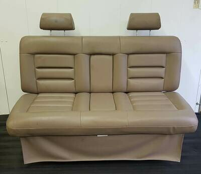 Powered RV Sofa Bed Leather.
