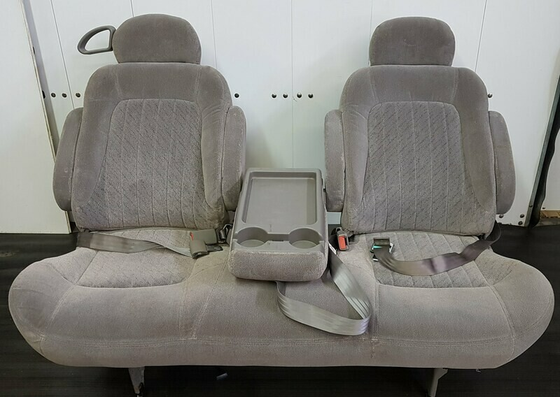 Removable Bench Seat for Vans and RV Conversion