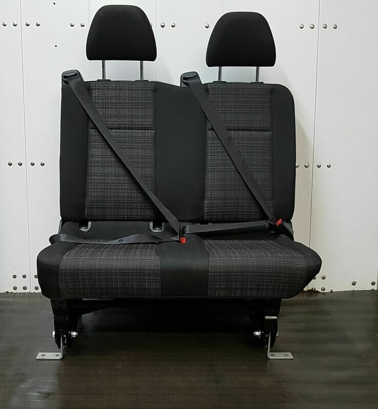2 Passenger Bench Seat for Cargo Vans