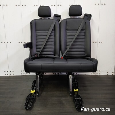 2 Passenger Bench Seat - Leather & Removable