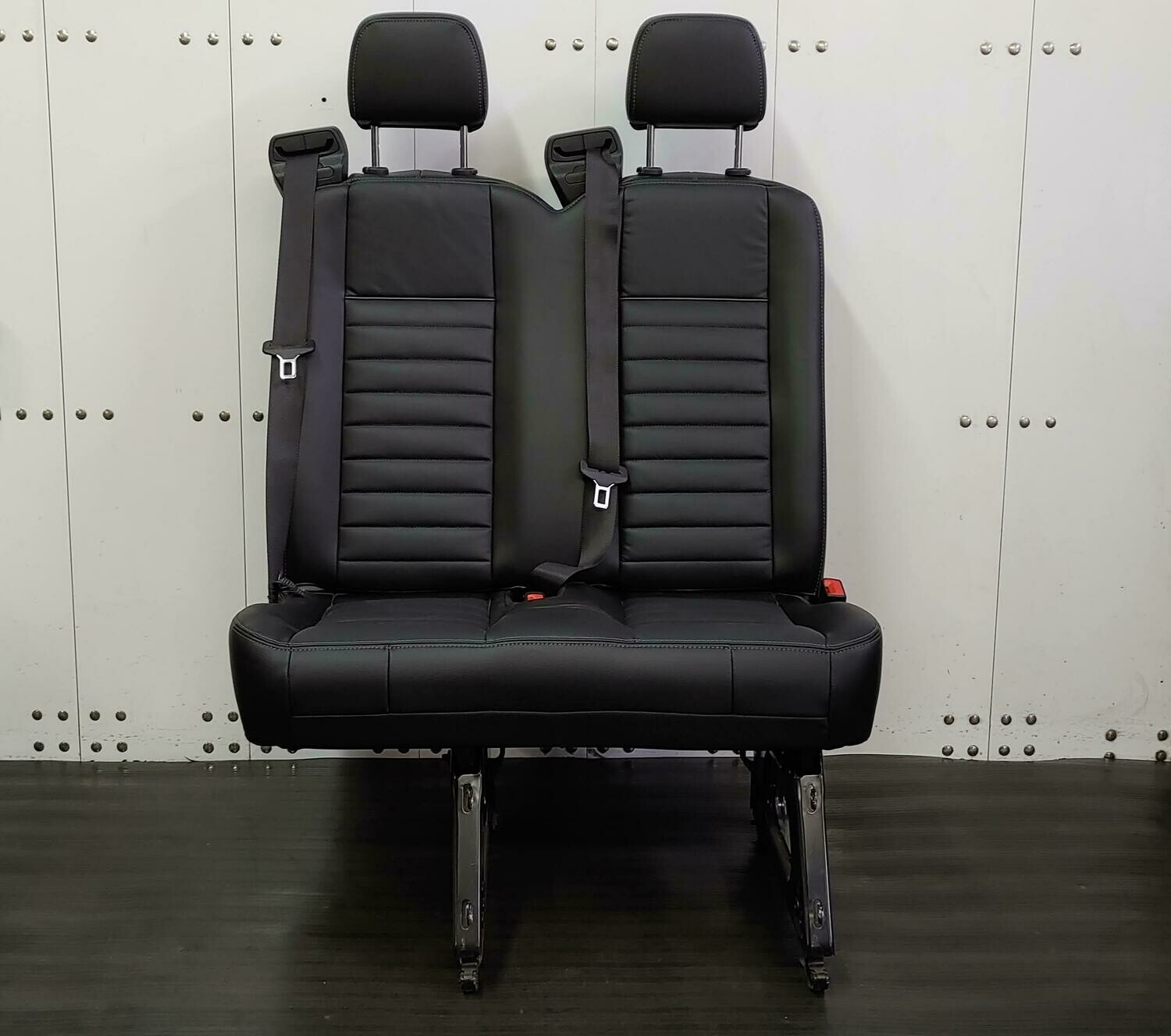 2 Passenger Leather Bench Seat -  Removable