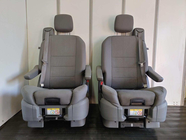 Pair of Swivel Seats W/ Child Seat