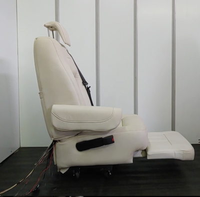 Leather Seat for Van Conversions - Powered W/ Legrest