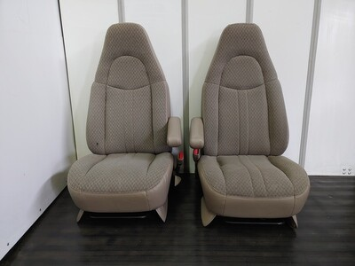 Chevy Front Seats - Tan Colour