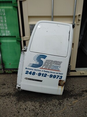 Chevy Express Back Door - Driver Side