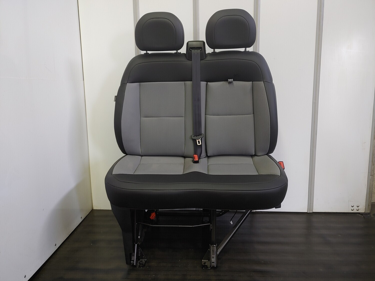 2 Passenger Ram ProMaster Front Bench Seat W/ AirBag - Leather.