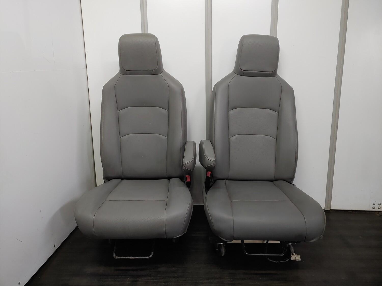 Pair of Vinyl Front Seats