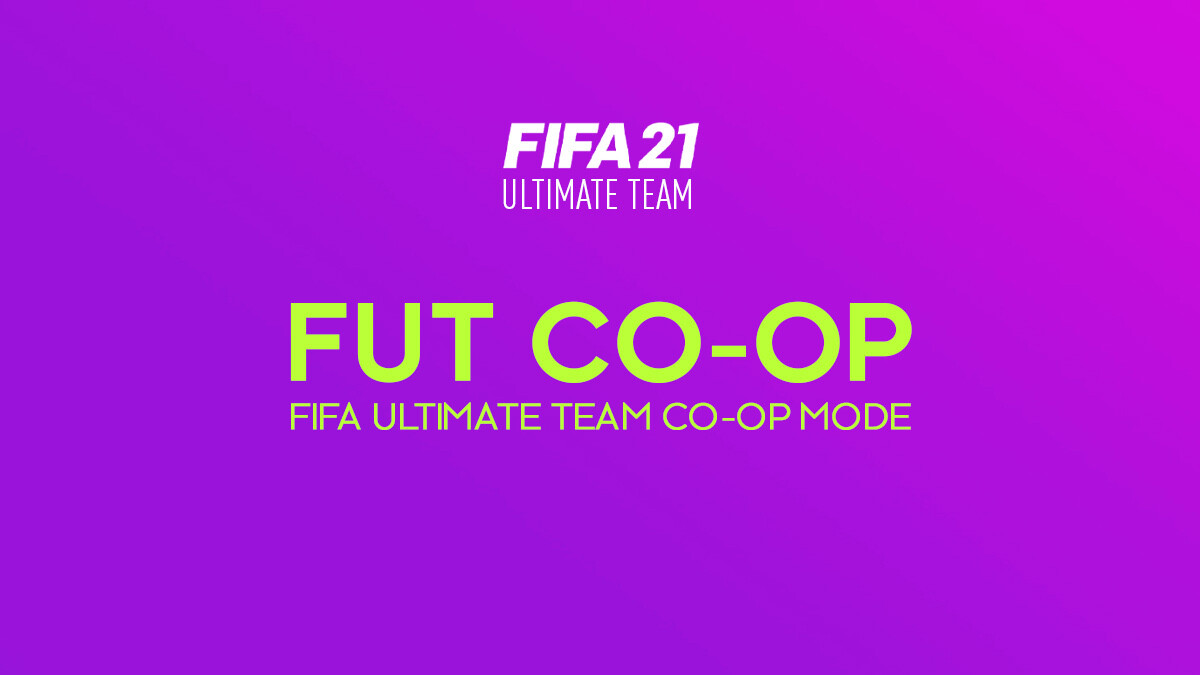 FIFA 21 Co-Op Boosting