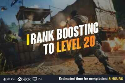 Call Of Duty Cold War Boosting to Level 20