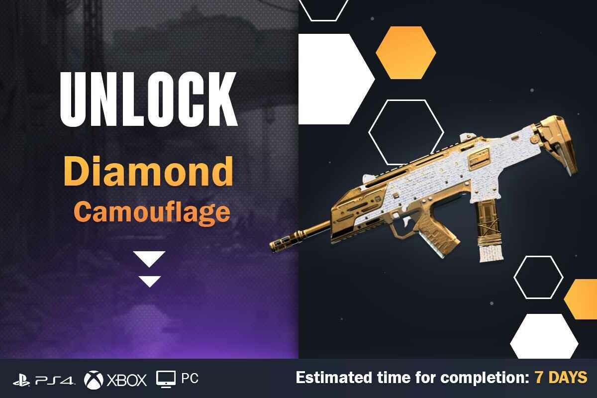 Call Of Duty Cold War Diamond Camouflage Unlock